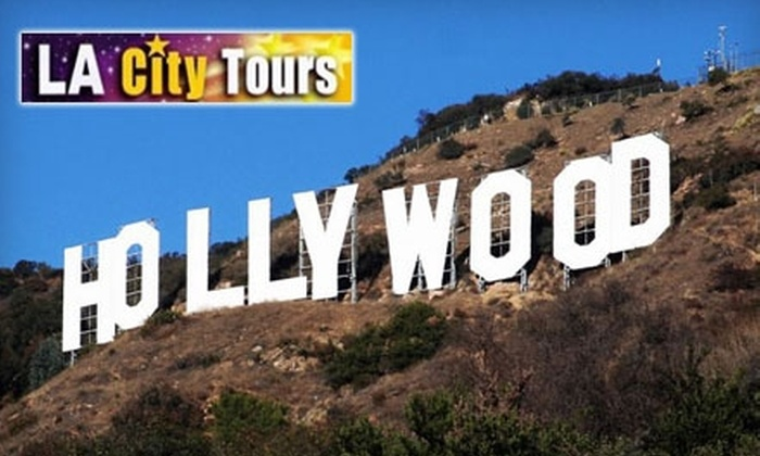 La city tours in hollywood california groupon for La star homes tour