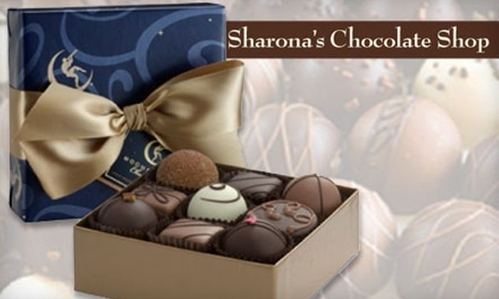 Sharona's Chocolate Shop - Downtown: $25 for $50 Worth of Chocolates or $87 for a Private Chocolate Party ($175 Value) at Sharona's Chocolate Shop