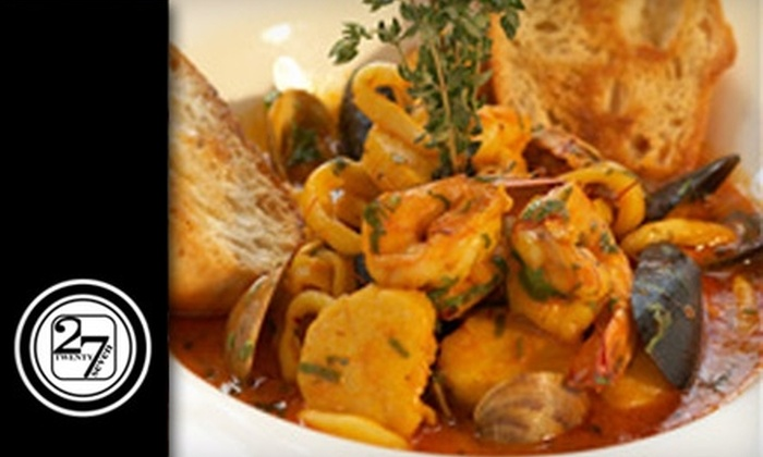 Bistro 27 - Monroe Ward: $15 for $30 Worth of Continental Cuisine at Bistro 27