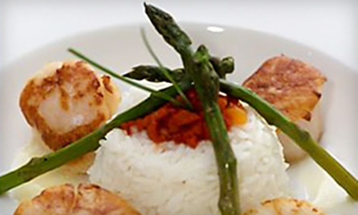 The Pearl French Bistro - Deer Park: $20 for $40 Worth of Elegant Dinner Fare at The Pearl French Bistro in Newport News