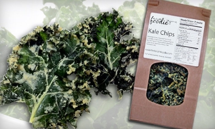 The Health Foodie - Paradise Valley: $4 for Kale Chips at The Health Foodie ($8 Value)