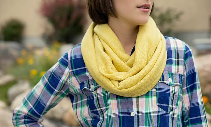 Cents of Style: $11.99 for a Sweater Infinity Scarf from Cents of Style ($24.95 Value)