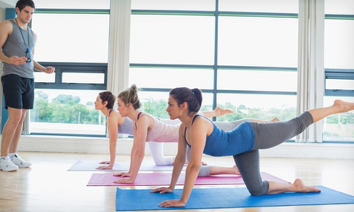 Pilates Aligned - Multiple Locations: 5 or 10 Pilates Mat Classes at Pilates Aligned (Up to 56% Off)