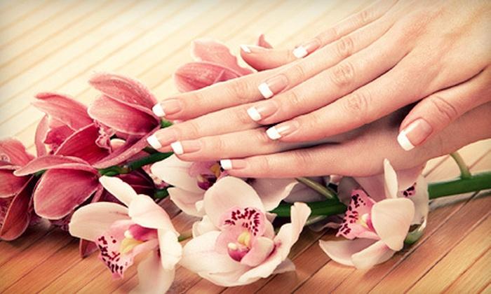 Posh Nail Company - Dublin: Signature Pedicure or Posh! Gel French Manicure at Posh Nail Company (Up to 51% Off)