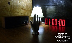 All Star Action Days: Live Escape Game for Four, Six, Eight or Sixteen People at The Cardiff Maze (Up to 68% Off)