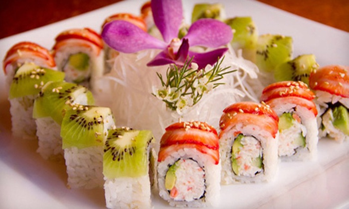 The Sushi Room - Downtown Ocotillo: $16.50 for $30 Worth of Sushi and Drinks at The Sushi Room