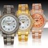 Rousseau Piera Women's Swarovski Crystal Watch