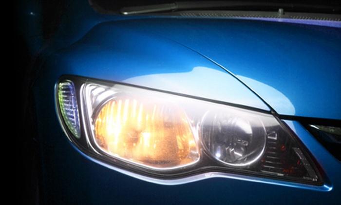 Green Clean Xpress Car Wash - Torrance: Comprehensive Detailing Package or Headlight Restoration at Green Clean Xpress Car Wash in Torrance (Up to 60% Off)