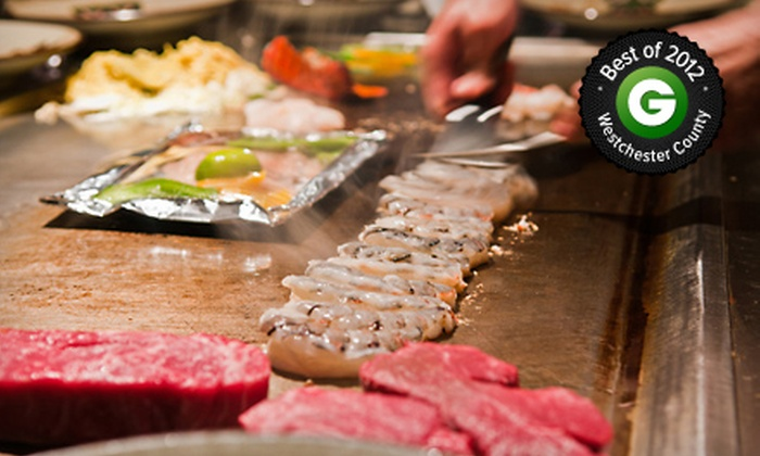 Banzai Hibachi - Hartsdale: $25 for $50 Worth of Hibachi Dinner at Banzai Hibachi