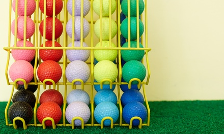 Driving Range Ball Buckets or Mini Golf at Belle Isle Golf Center (62% Off). Four Options Available
