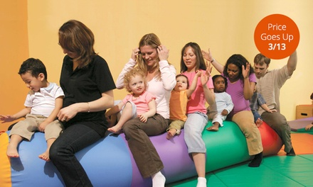 5 Classes or 10 Open-Gym Visits at Gymboree Play and Music (55% Off)