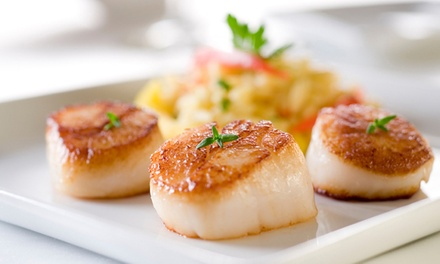 Seafood and Pasta for Lunch or Dinner at Fundy Restaurant and Dockside Restaurant & Bar (40% Off)