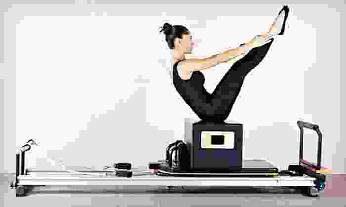 Pilates of New Jersey - Roseland: Four Group Tower, Reformer, or Barre Classes or Three Private Lessons at Pilates of New Jersey (Up to 70% Off)