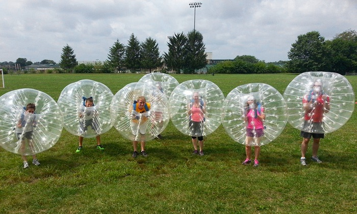Indy Bubble Soccer - Multiple Locations: One or Two Hours of Bubble Soccer for 10 People at Indy Bubble Soccer (Up to 57% Off)