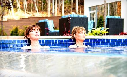 Outdoor Scandinavian Bath for 1 on Sun.-Fri.  - BleuSpa in Cantley