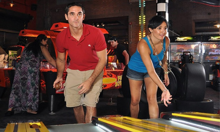 Game Time - Historic Ybor: One- or Two-Hour Unlimited Arcade-Game Package at Game Time (Up to 67% Off)