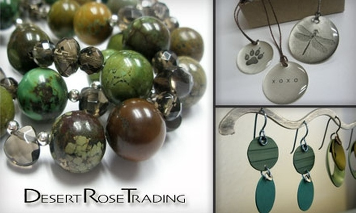 Desert Rose Trading - Albuquerque: $25 for $50 Worth of Jewelry at Desert Rose Trading