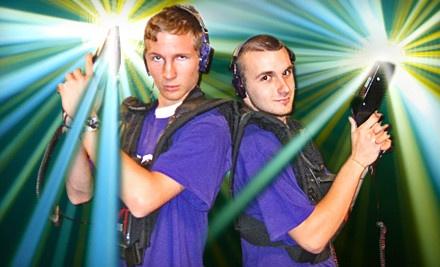 4 Games of Laser Tag - Shotz Lazer Tag & Billiards in Colorado Springs