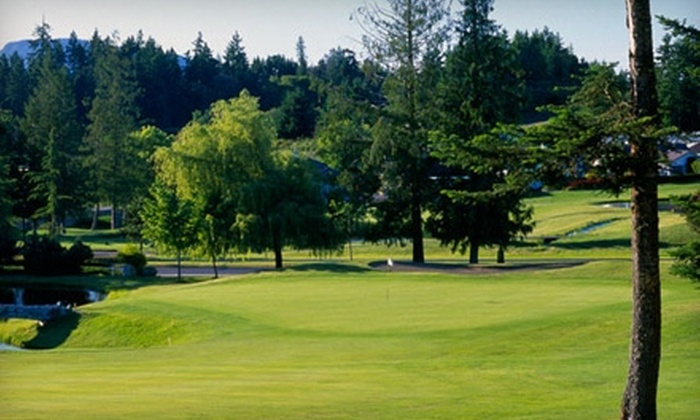Arbutus Ridge Golf Club - Cobble Hill: $50 for Round of Golf (Up to $99.68 Value) or $27 for Sunday Brunch for Two (Up to $53.65 Value) at Arbutus Ridge Golf Club
