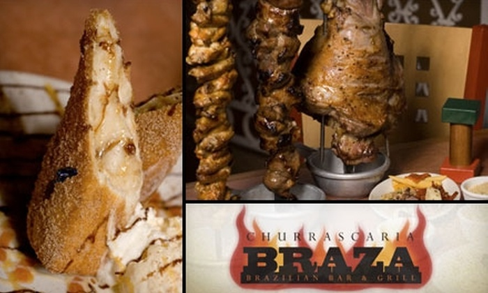 Churrascaria Braza - Asylum Hill: $25 for $50 Worth of Savory Brazilian Steaks and Drinks at Churrascaria Braza ($25 for $60 If Redeemed Sunday–Thursday)