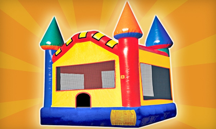 Over the Moon Bounce & Party Rentals Ltd. - Downtown: Eight-Hour Bounce-House Rental Monday–Thursday or Any Day from Over the Moon Bounce & Party Rentals Ltd. (Half Off)