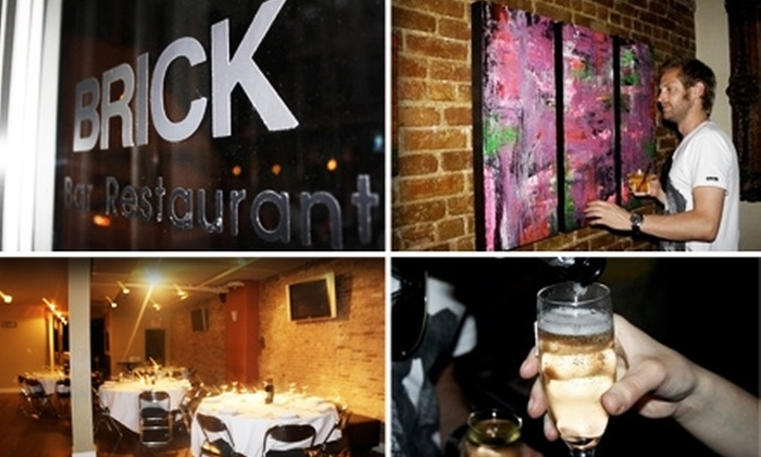 Brick NYC - Tribeca: $10 for $25 Worth of Italian Cuisine and Wine at Brick NYC