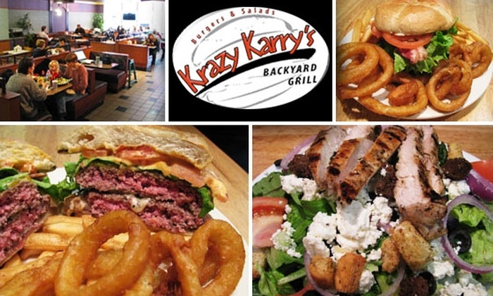 Krazy Karry's - Arlington Center: $10 for $25 Worth of Hamburgers & All-American Fare at Krazy Karry's