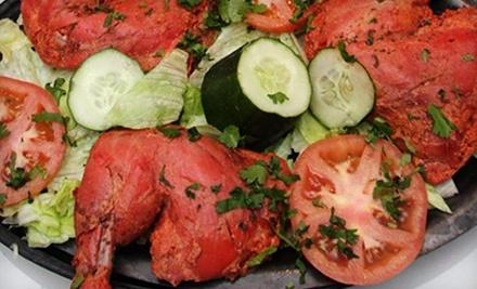 Sizzling Tandoor: $22 Groupon toward Lunch - Sizzling Tandoor in Santa Rosa
