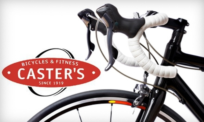 Caster's Bicycles and Fitness - Multiple Locations: $30 for a Basic Bike Tune-Up at Caster's Bicycles and Fitness in Providence or Warwick ($69 Value)