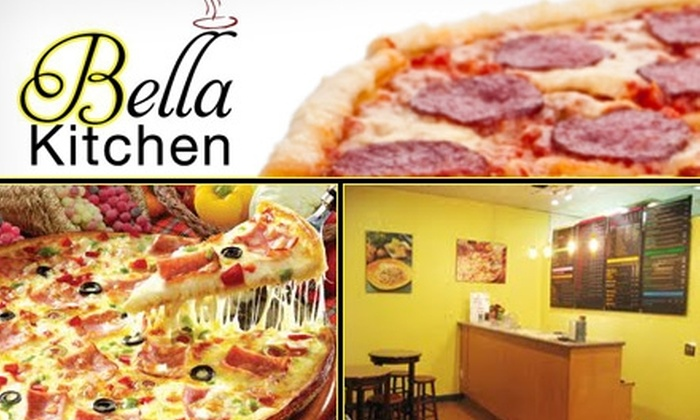 Bella Kitchen - North Rose Hill: $10 for $25 Worth of New York–Style Pizza, Pasta, and Calzones at Bella Kitchen