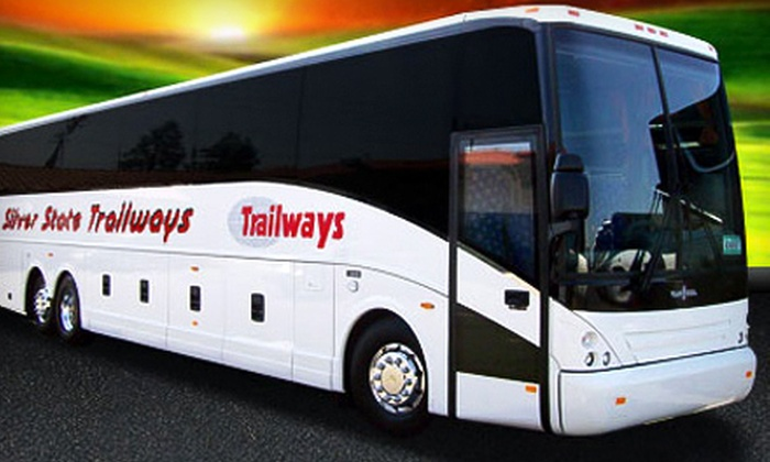 Silver State Trailways - Multiple Locations: $24 for Round-Trip Charter Bus Ride to Las Vegas from Silver State Trailways ($50 Value)