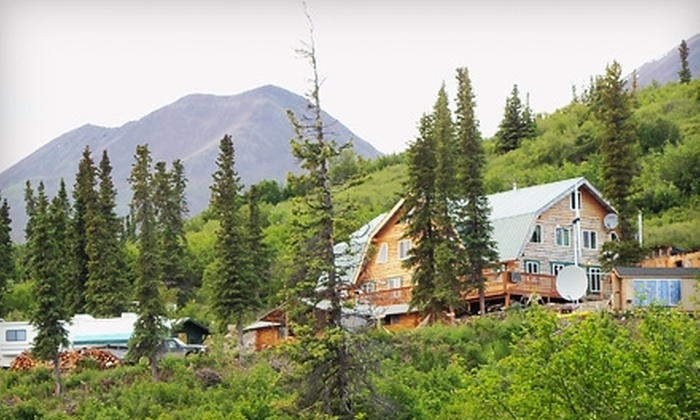 Alpine Creek Lodge - Matanuska-Susitna: Two-Night Stay and ATV Excursion with Fishing Trip for Two People at Alpine Creek Lodge in Cantwell. Three Options Available.