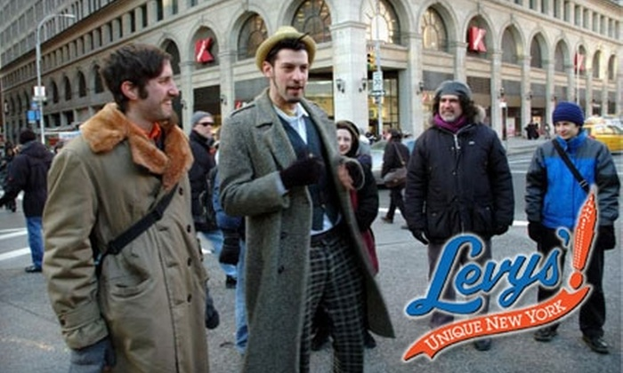 The Levys' Unique New York! - East Village: $20 for Your Choice of Four Two-Hour Walking Tours of New York from The Levys' Unique New York! ($40 Value)
