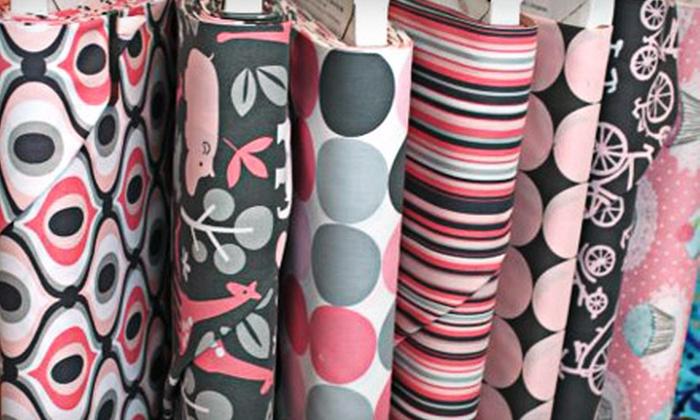 Paula's Fine Fabrics - Deerwood: $15 for $30 Worth of Fabric and Sewing Supplies at Paula's Fine Fabrics