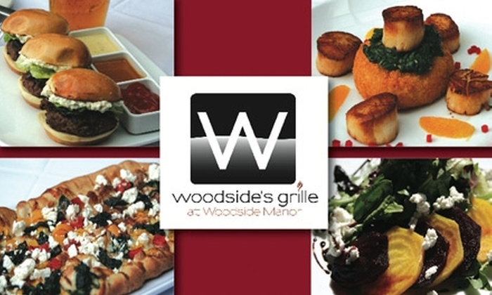 Woodside's Grille - Franklin Park: $20 for $40 Worth of Casual American Dining and Drinks at Woodside's Grille