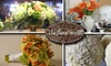 INACTIVE - The Floral Studio - Towson: $25 for $50 Toward a Seasonal Floral Arrangement at The Floral Studio