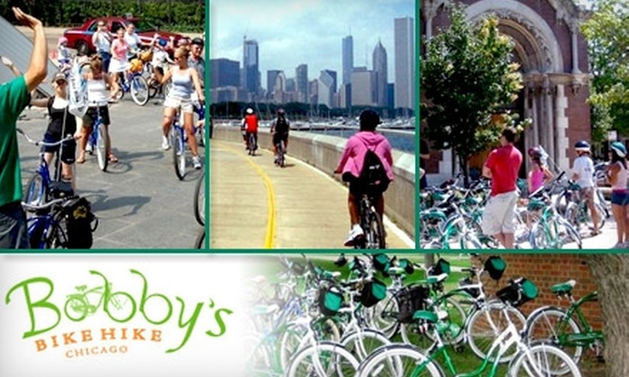Bobby's Bike Hike - Chicago: $17 for Windy City Cycling Tour from Bobby's Bike Hike