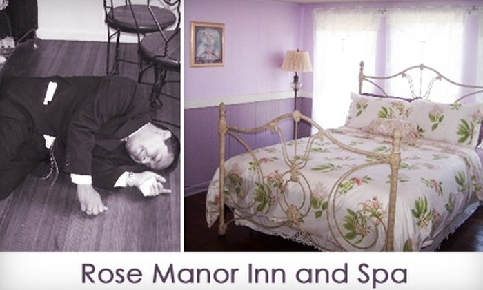 Rose Manor Inn - Wills Point: $99 for a One-Night Stay for Two, Murder-Mystery Performance, Five-Course Dinner, and Full Breakfast at the Rose Manor Inn in Wills Point (Up to $300 Value)