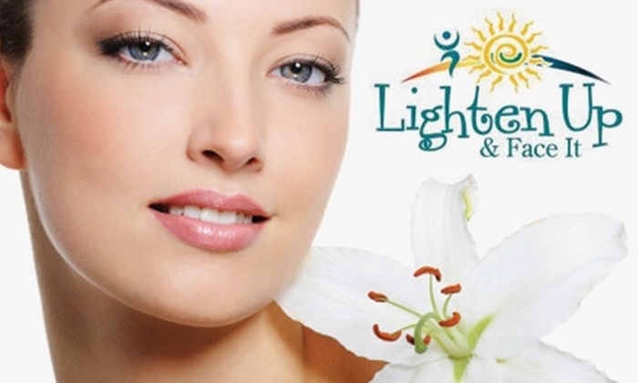 Lighten Up & Face It - Pineville: $32 for a One-Hour Eminence Organic Facial at Lighten Up & Face It ($75 Value)