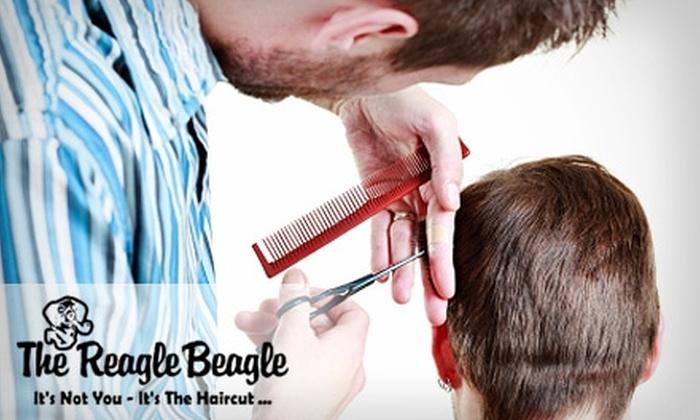 The Reagle Beagle Men's Salon - Lakewood: $20 for a House Haircut at The Reagle Beagle Men's Salon