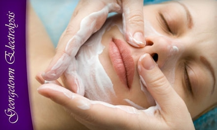 Georgetown Skin Care - Lyon Park: $65 for One Facial with Choice of Glycolic Peel or Microdermabrasion at Georgetown Skin Care in Arlington