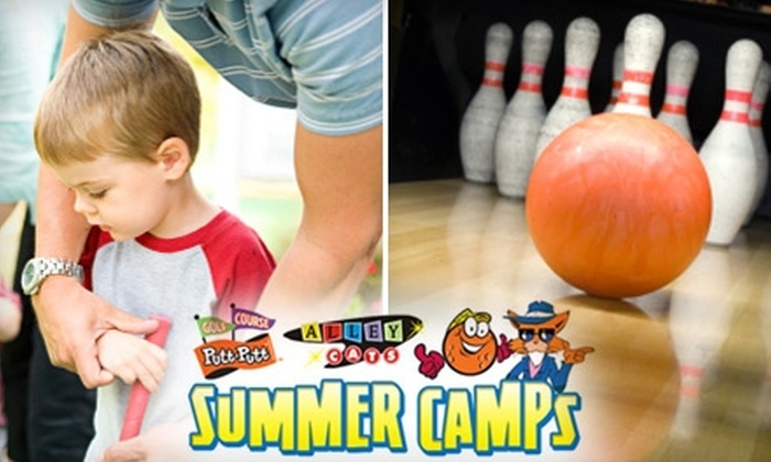 Alley Cats Entertainment Center / Putt-Putt Fun Center - Multiple Locations: $20 for a One-Day Summer Camp Pass at Putt-Putt Fun Center or Alley Cats Entertainment Center ($40 Value)