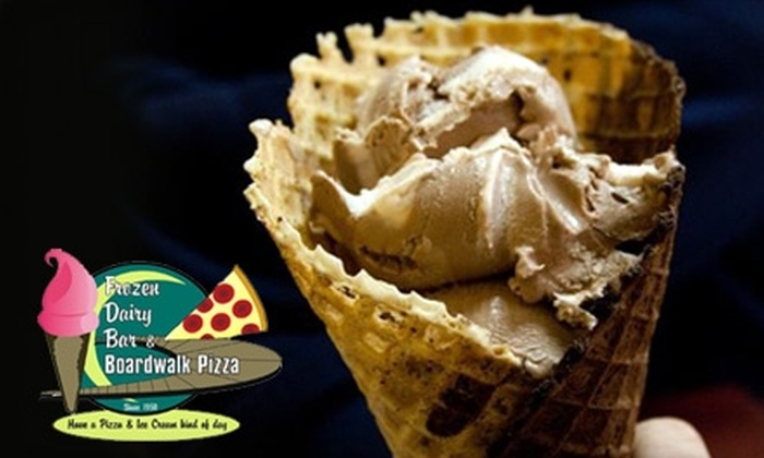 FDB Eatery - Jefferson: $5 for $10 Worth of Frozen Treats at Frozen Dairy Bar and Boardwalk Pizza