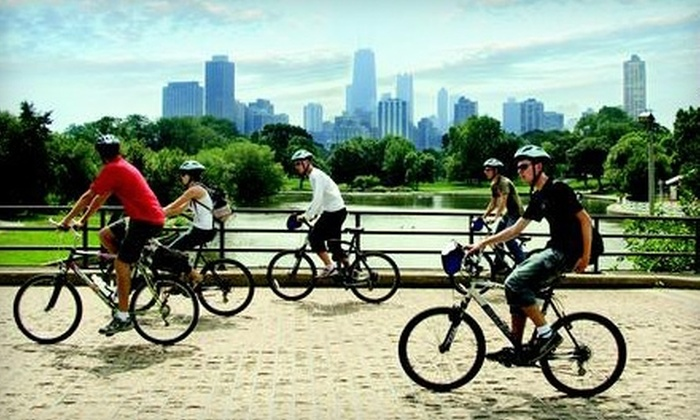 Bike Chicago - Multiple Locations: $19 for a Chicago Bike Tour from Bike and Roll Chicago (Up to $39 Value)