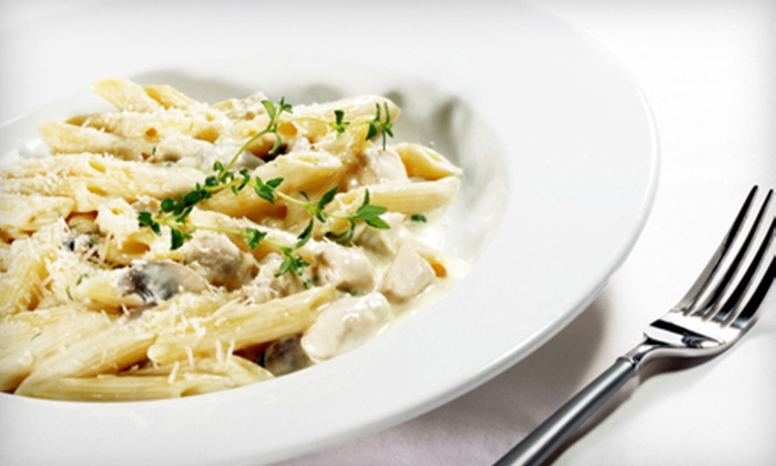 Cafe Eleganza - Abington: Italian Dinner Fare at Cafe Eleganza in Pembroke (Up to 57% Off). Two Options Available.