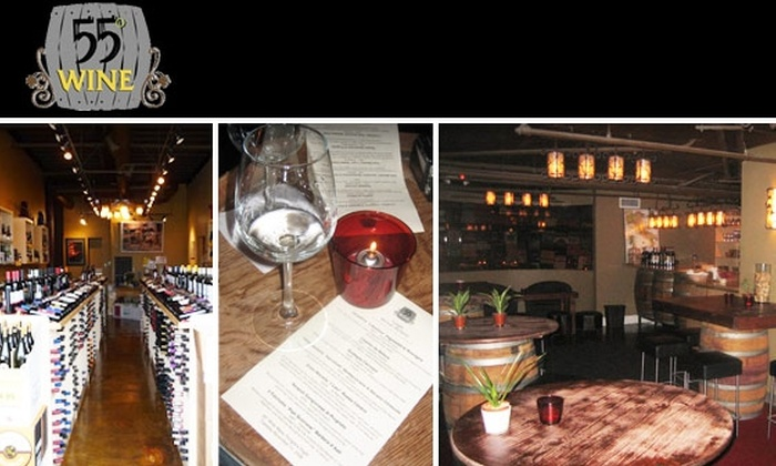 55 Degree Wine  - Atwater Village: $25 for $50 Worth of Wine and Beer at 55 Degree Wine