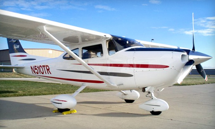 Chicagoland Aviation - Lewis University Airport Executive Terminal: Private-Pilot Course for One or Two from Chicagoland Aviation in Romeoville (Half Off)