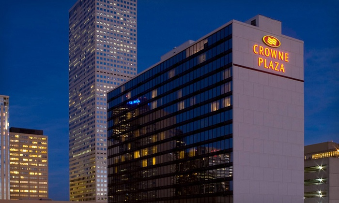 Crowne Plaza Downtown Denver - CBD,Central Business District,Civic Center: One-Night Stay at the Crowne Plaza Downtown Denver