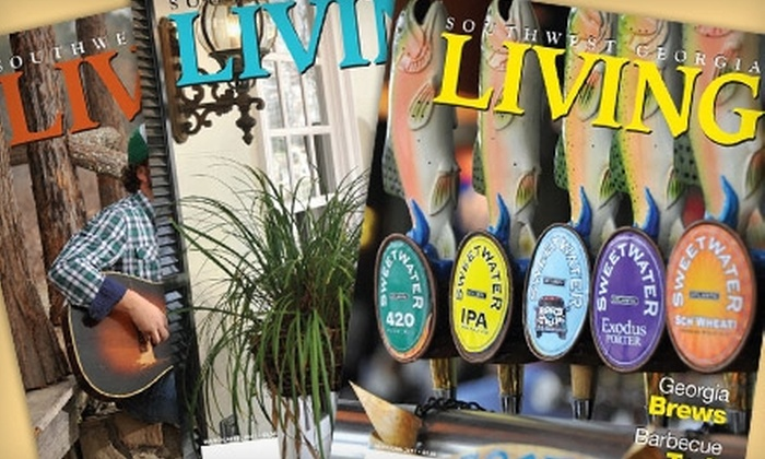 """Southwest Georgia Living"" Magazine - Albany: $9 for One-Year, Six-Issue Subscription to ""Southwest Georgia Living"" Magazine"