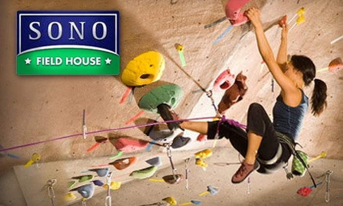 Sono Field House - Norwalk: $50 for a One-Hour Private Rock-Climbing Session for Up to Four People at Sono Field House ($100 Value)